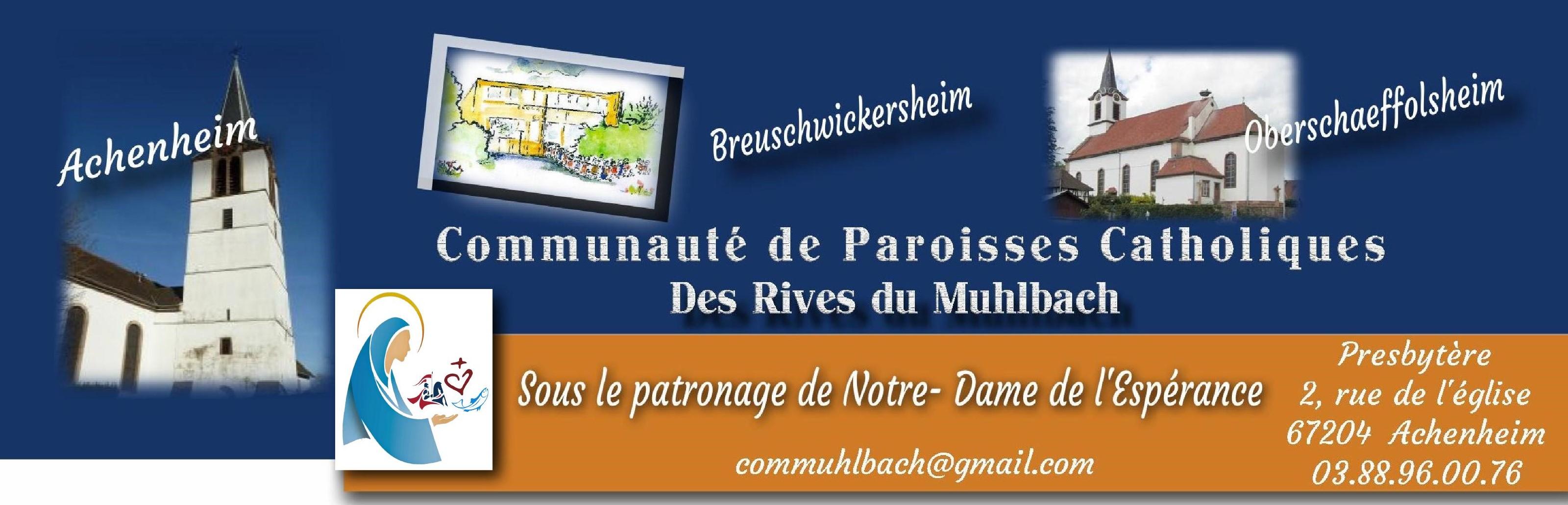 Communauté de paroisses des Rives du Muhlbach